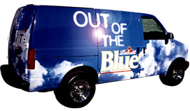 Labatt Blue Vehicle Design